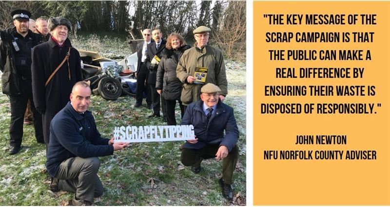 scrap flytipping campaign norfolk brian finnerty_60681