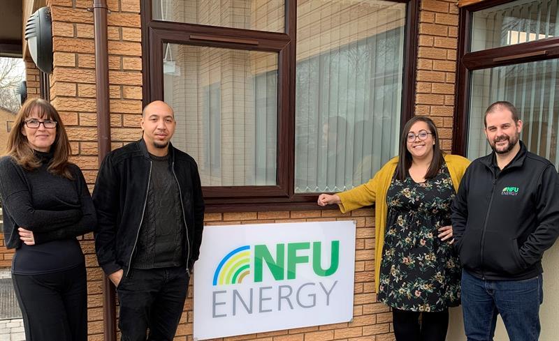 nfu energy contract sales team l-r candace robb, josh robinson, jodie hisgett, chris swain_60955