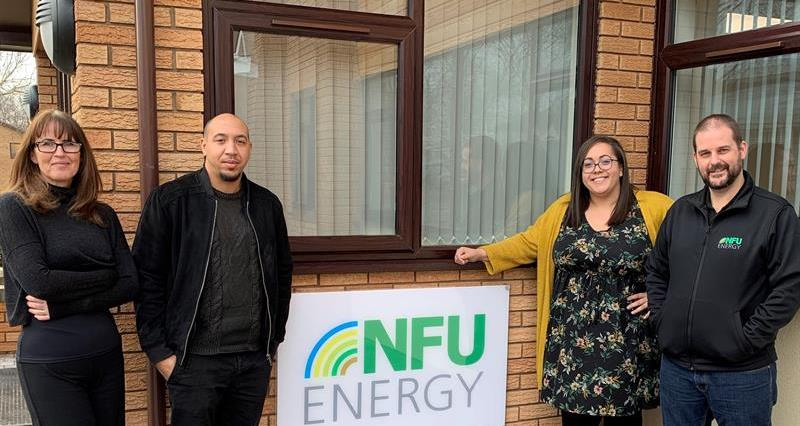 nfu energy contract sales team l-r candace robb, josh robinson, jodie hisgett, chris swain_60955