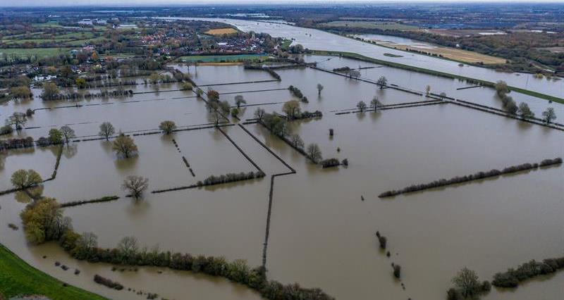 Flooded land, Fishlake, Doncaster, November 2019_70557