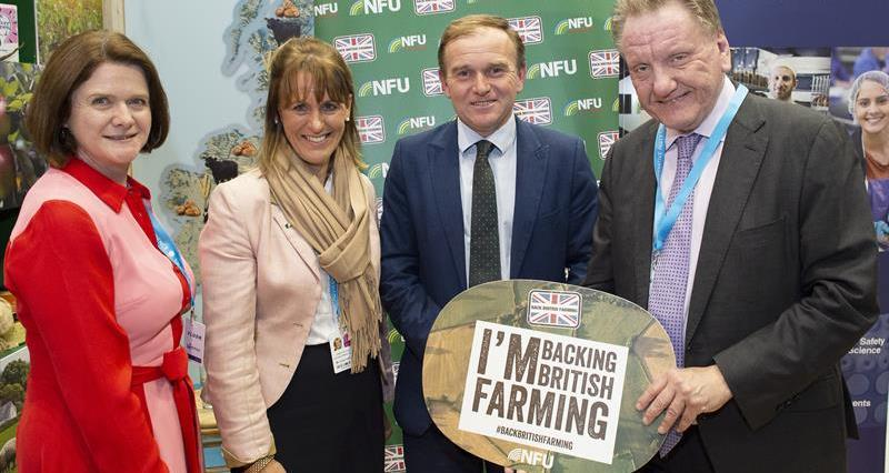 NFU exhibition stand at Conservative party conference, Manchester, September 2019_69305