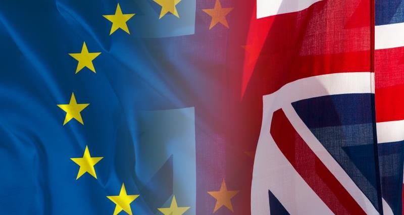英国脱欧欧盟旗帜57998