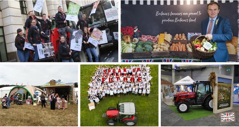 Celebrating Back British Farming's successes