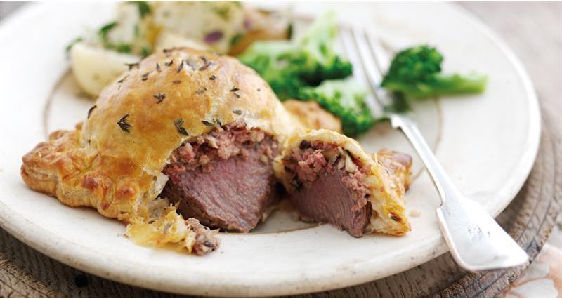 Individual lamb wellingtons Countryside Kitchen_60082