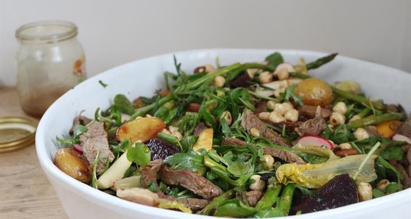 Miranda Gore Brown Summer beef salad_72937