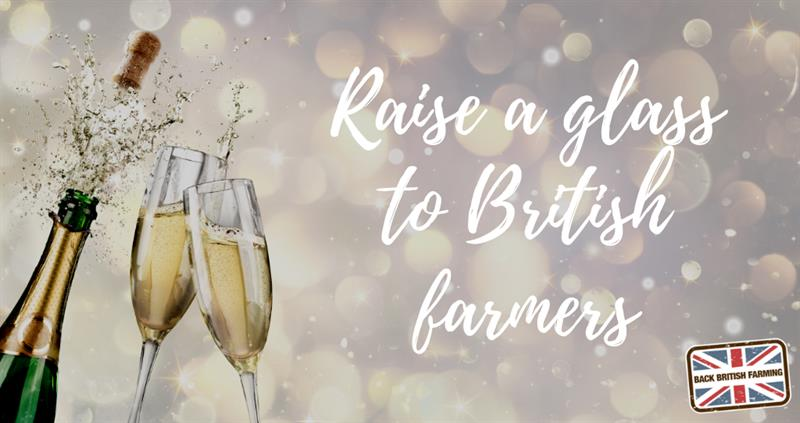 Raise a glass to British farmers, Sparkling wine_59164