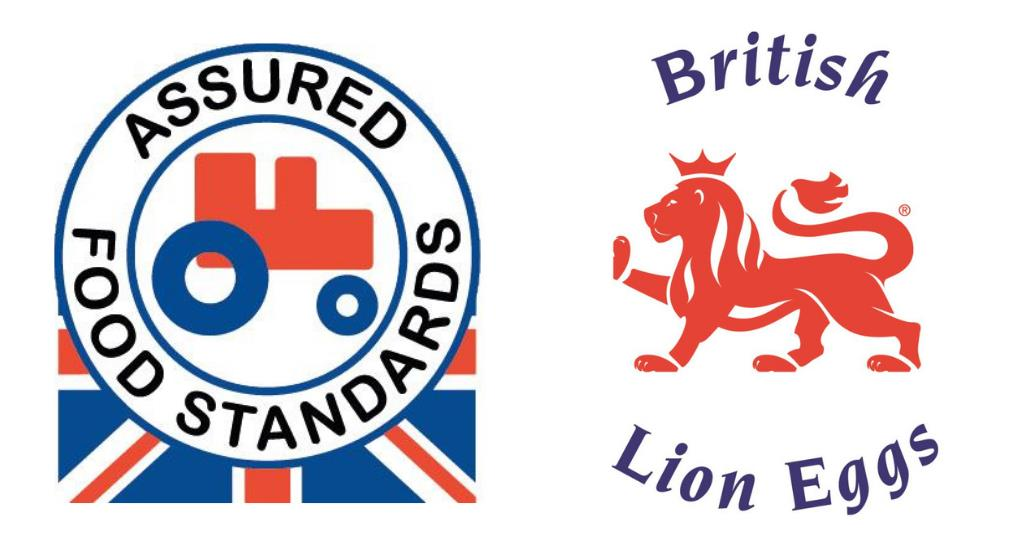 RED TRACTOR AND BRITISH LION FOOD STANDARD LOGOS