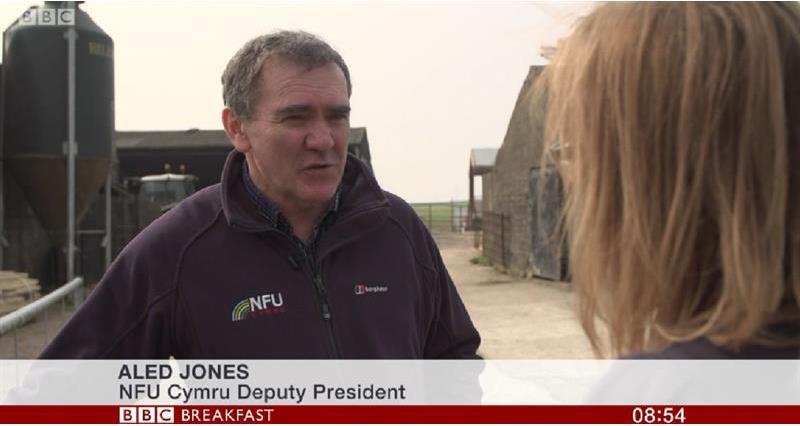 Deputy President NFU Cymru Aled Jones_64914