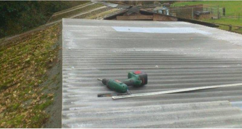 New roof with drill_60873