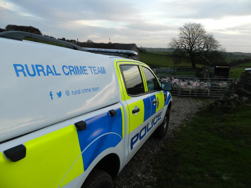 Generic police on farm 3_58361
