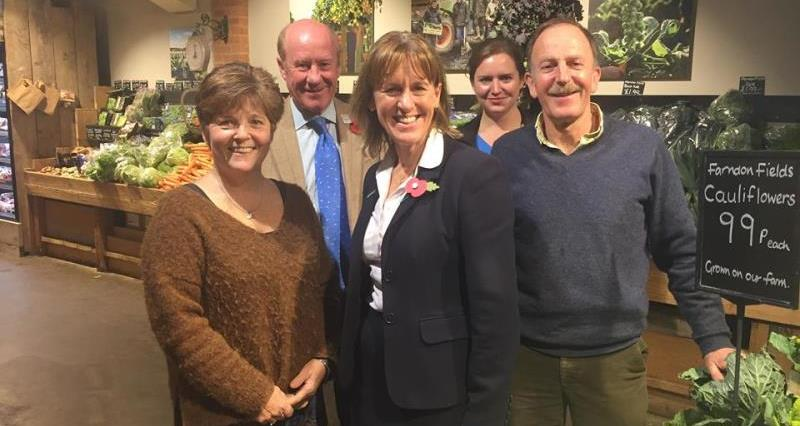 NFU president on tour in East Midlands