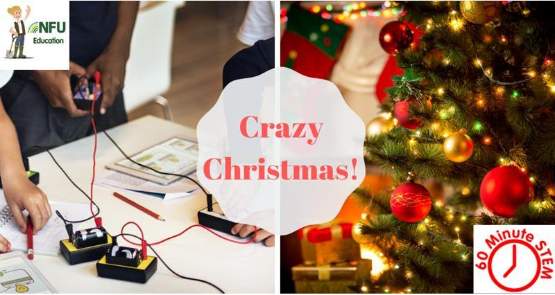 60 Minute STEM: Crazy Christmas!