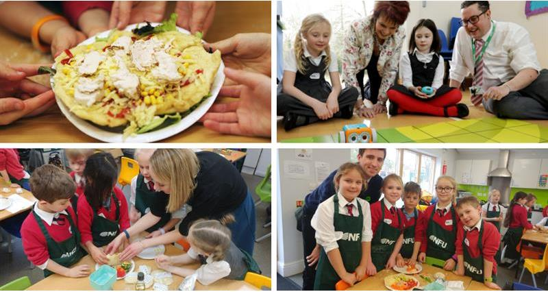 Department for Education minister wowed by day of food and farming fun