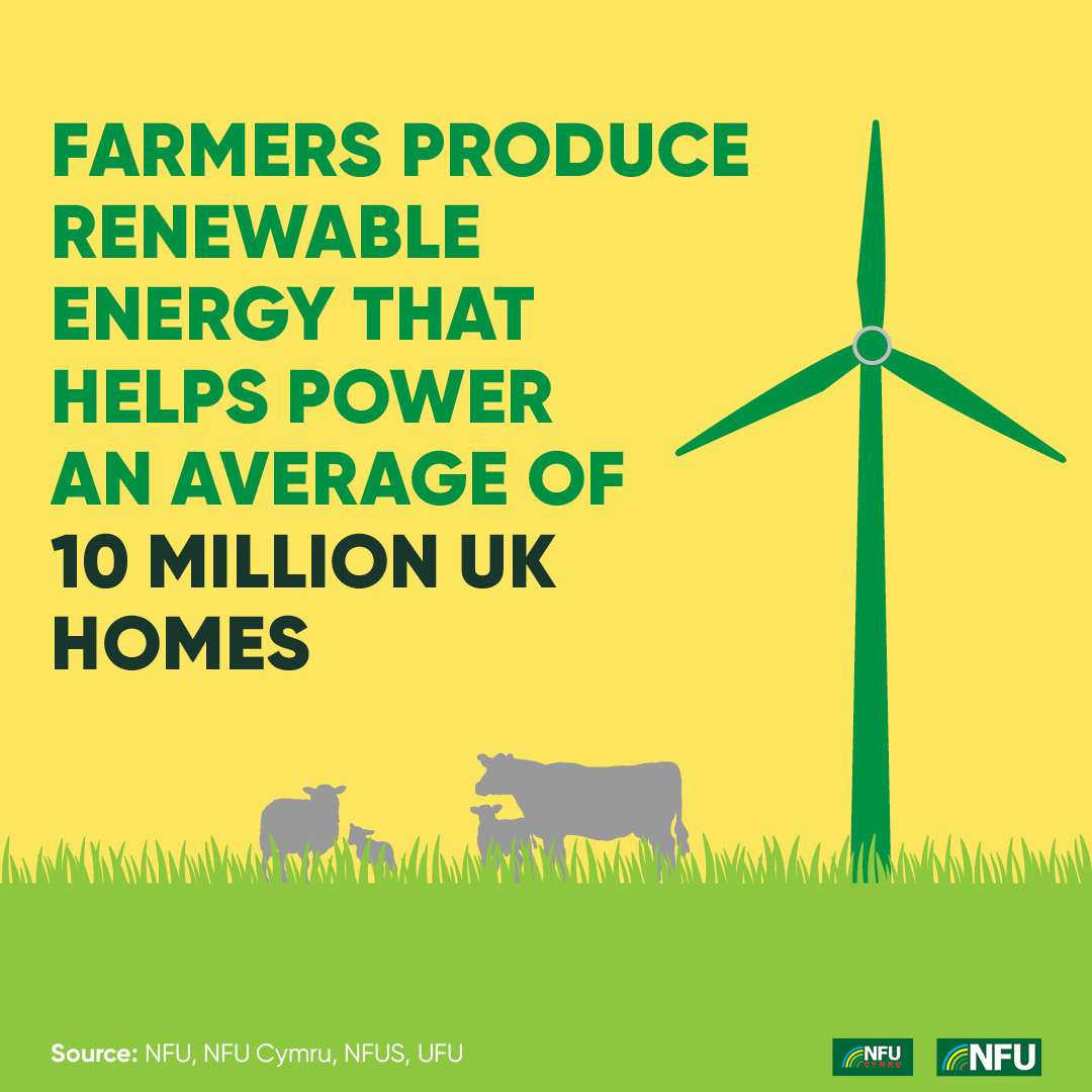 NFU Instagram infographic renewable energy