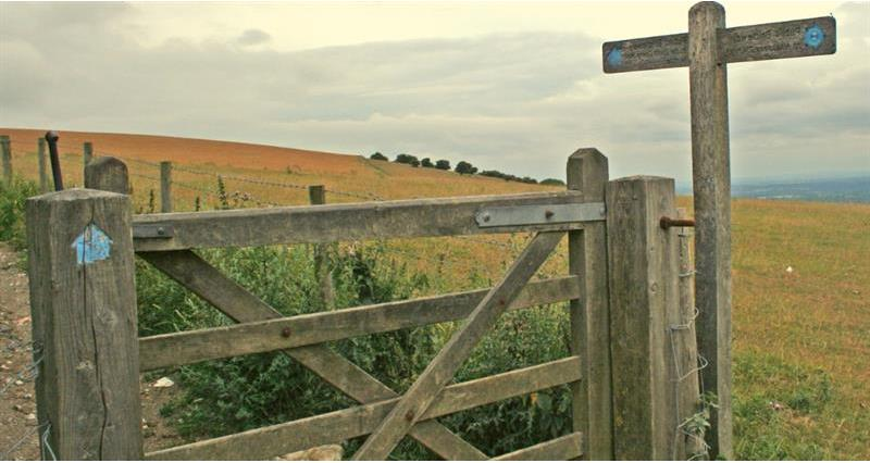 Bridleway Gate access footpath right of way_58874