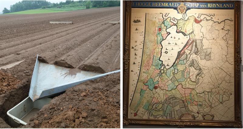 Stuart Roberts Trip to Holland Water board map potato experiment_65271