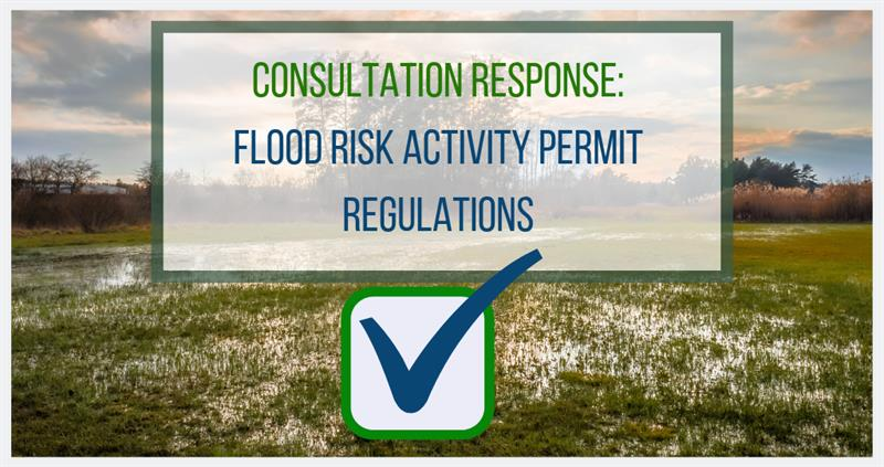 Flood risk activity permits consultation response_60287