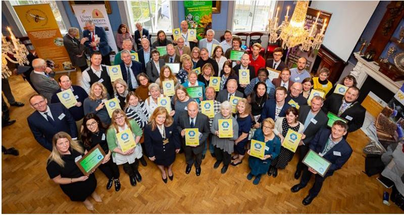 Farmer Champions at Bees' Needs Awards 2019