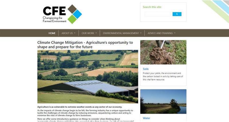 CFE Climate Change Mitigation homepage screenshot_72181