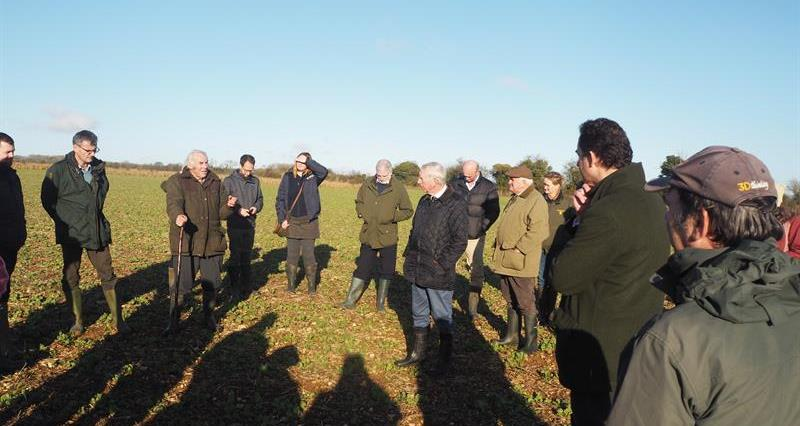 CFE 10 year awards - farm walk_70998