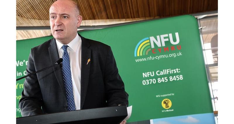 NFU Cymru reassures AMs and MPs: 'Welsh farmers are committed to feeding the nation during crisis