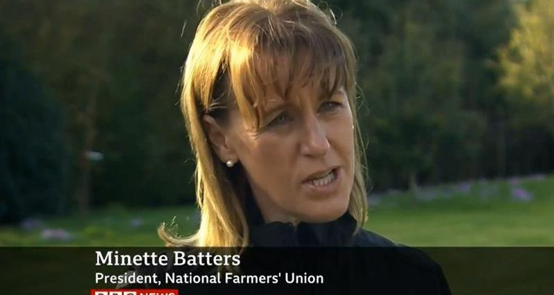 BBC News at Ten 8.10.19 Tariffs Minette Batters interview_69492