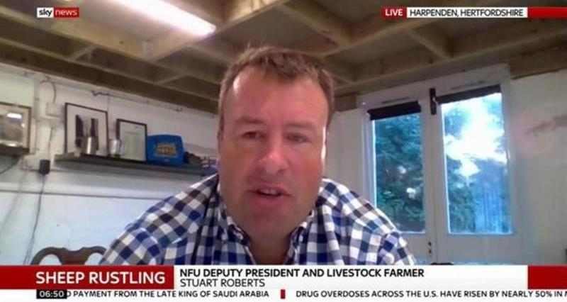 NFU in the media: Rural crime