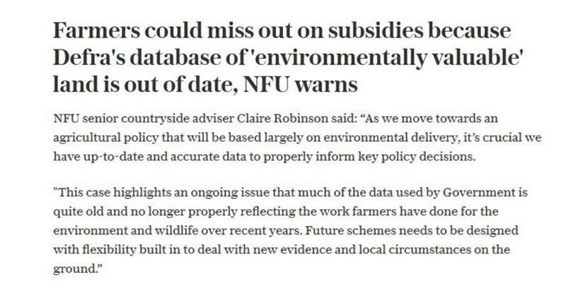 Claire Robinson quoted in The Telegraph on subsidies _72734