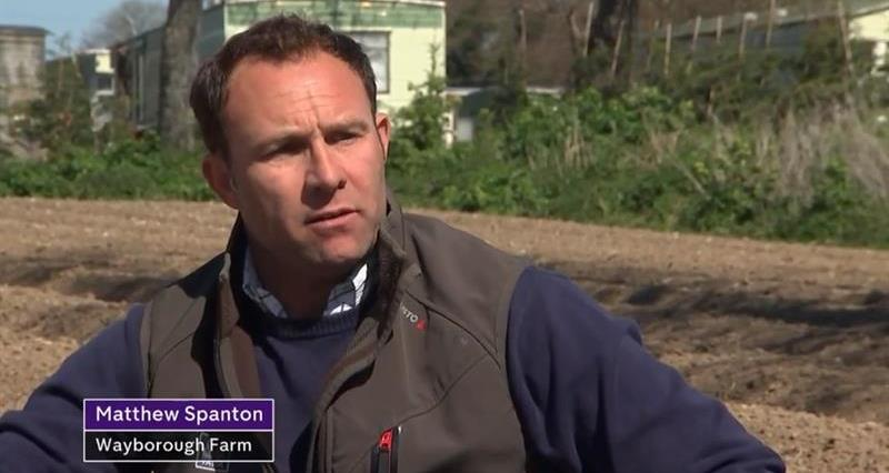 Matt Spanton on Channel 4 News discussing labour_72914