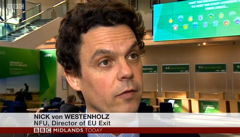 BBC Midlands Today NFU Conference 2019 coverage_61285
