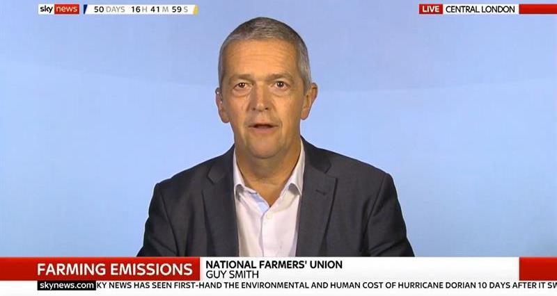 Guy Smith on Sky News on the NFU's net zero report_68834