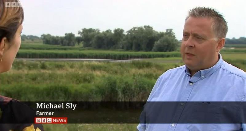 Michael Sly on BBC News_68024