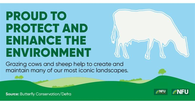 NFU Twitter infographic enhance the environment