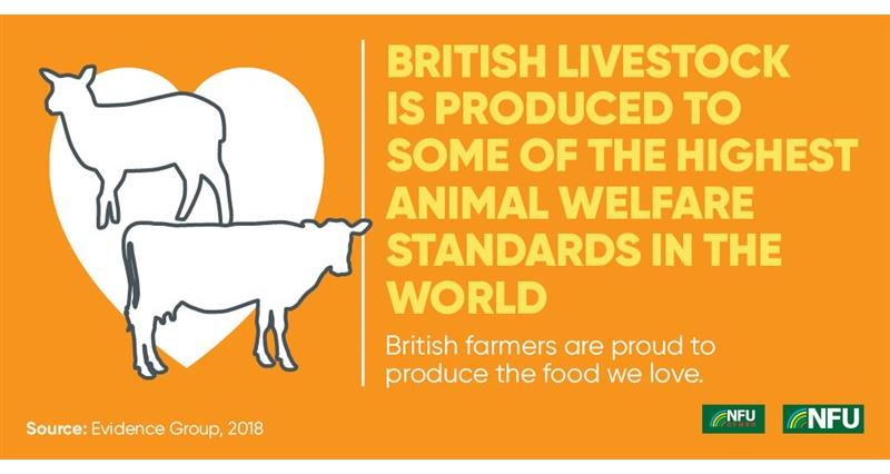 NFU Twitter infographic high standards