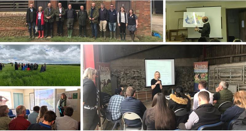 NFU Organic Forum farm events 2019