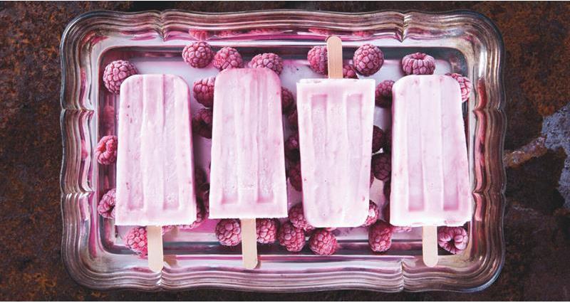 Raspberry cheesecake icecream sticks_71664