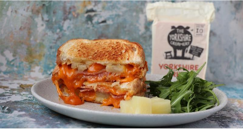 Yorkshire Red Pineapple and Cheese Toastie_73437