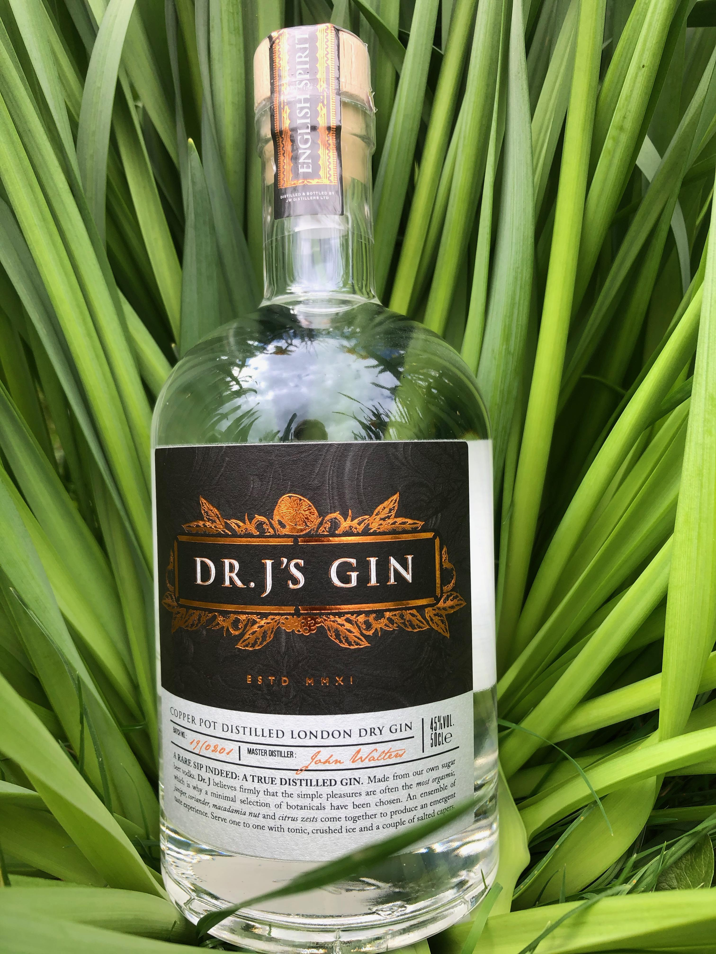Dr J's gin