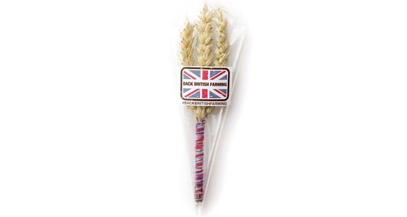 Wheatpin badge Back British Farming Day 2020_74487