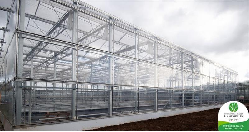 A new demonstration facility to investigate the effects of natural light growing