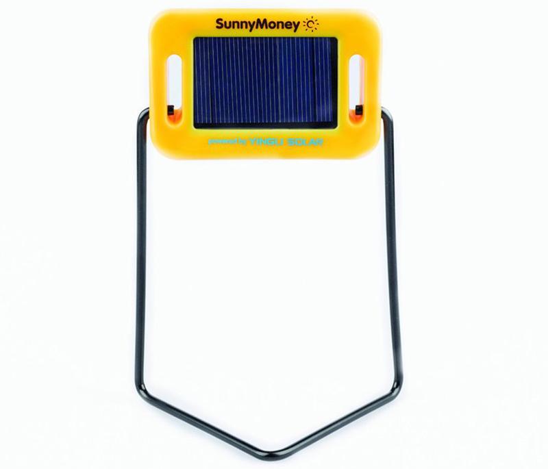 An SM 100 Solar light from Solar Aid