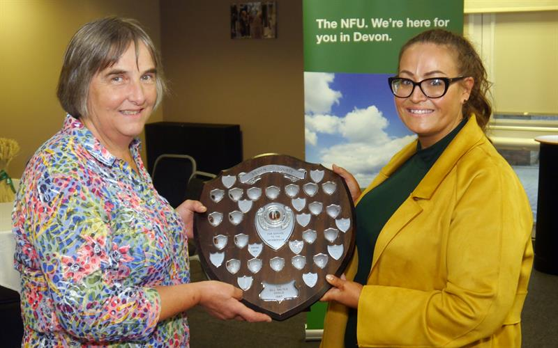 Devon group secretary award_58843