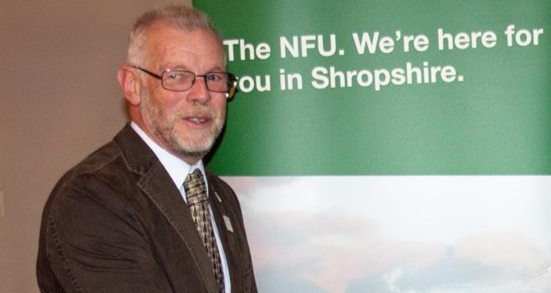 Shropshire NFU chairman David Lee_62749