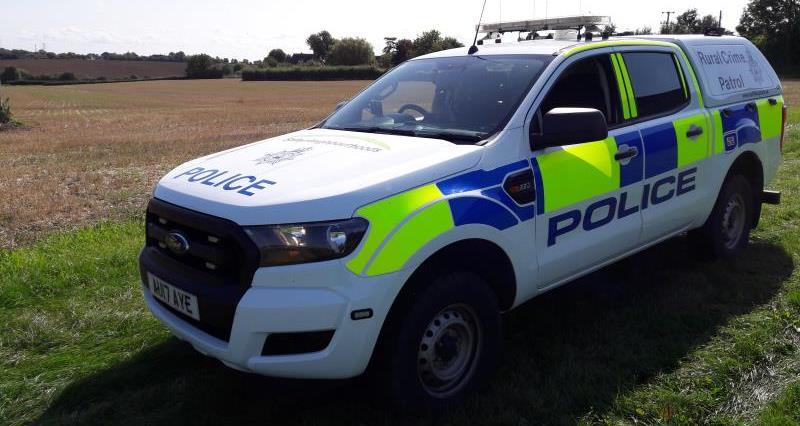 Police car in Suffolk_57180
