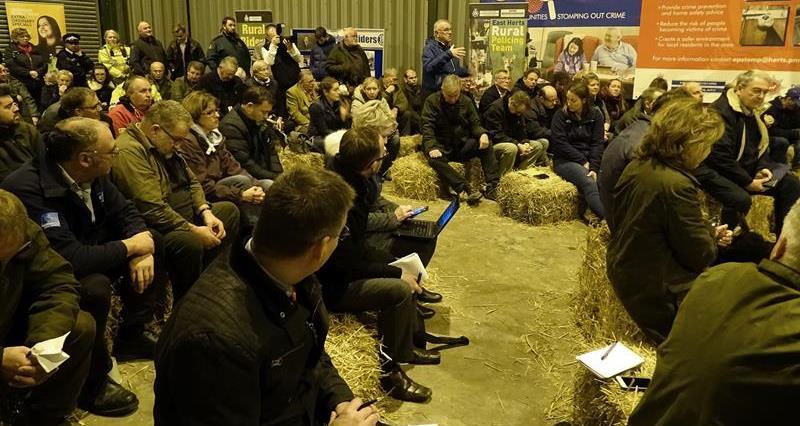 East Herts police barn meeting_58959