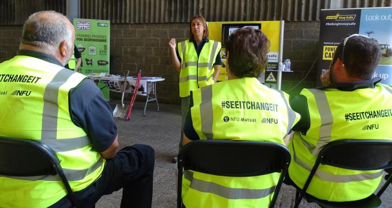 Farm safety event near Luton_55182
