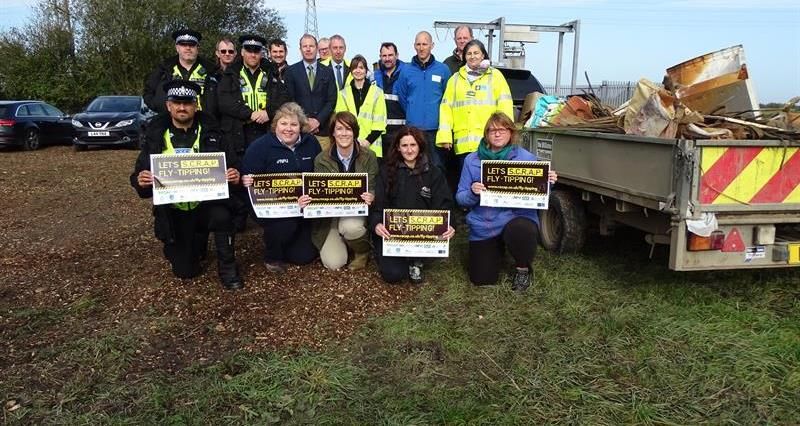 SCRAP fly tipping campaign event_69443