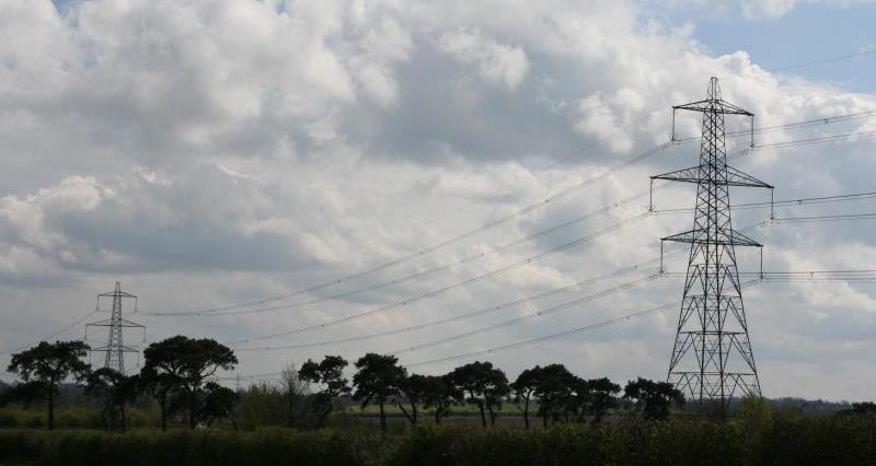 Pylons in Cambridgeshire_15126
