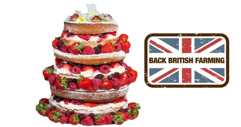 cake and back british farming stamp, bake off, august 2016_36829