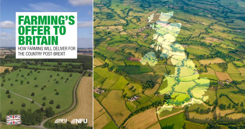nfu brexit farming report farming's offer to britain